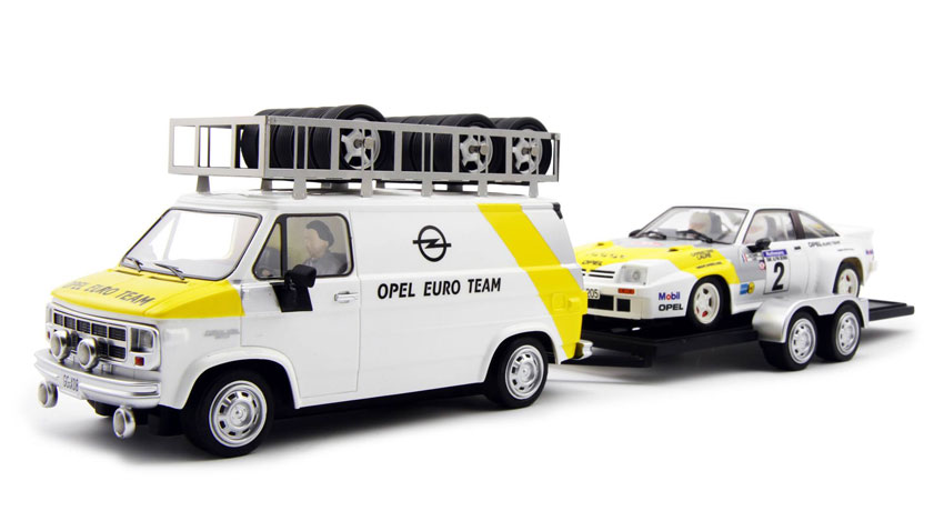 AVANT SLOT Opel with trailer