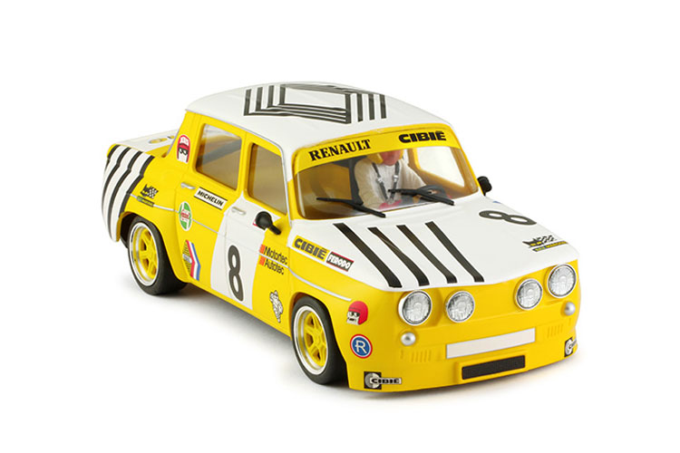 BRM Renault R8 Gordini yellow # 8