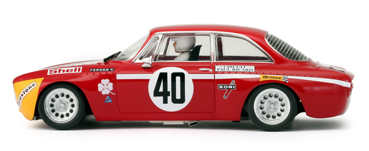 BRM Alfa GTA 1300 Junior  red+yellow # 40