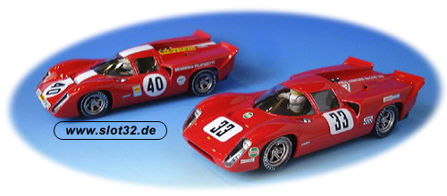 FLY Lola T70 III B red decals