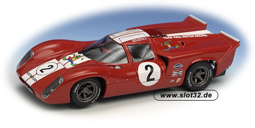 FLY Lola T70 III B red #2