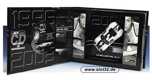 FLY Ford GT 40 car and catalogue 2004 limited