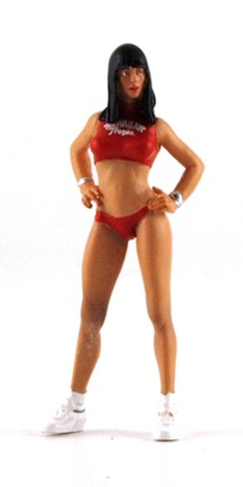LeMansMiniatures Hawaiian Tropic Gridgirl Julia