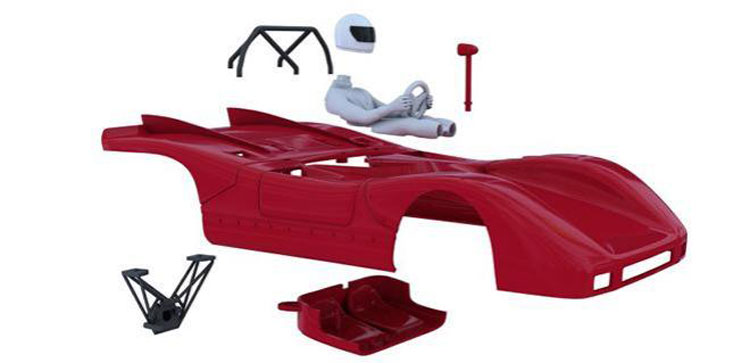 NonnoSlot Fiat Abarth 2000 Spider Sport  body KIT