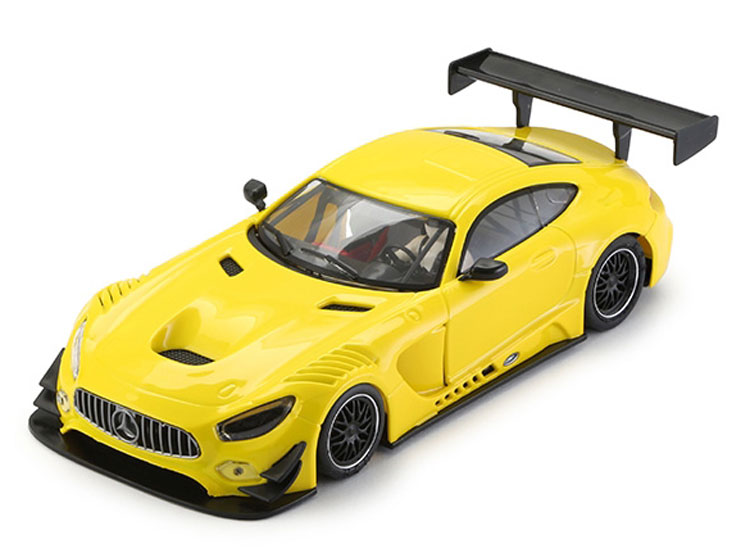 NSR AMG Mercedes GT3 yellow