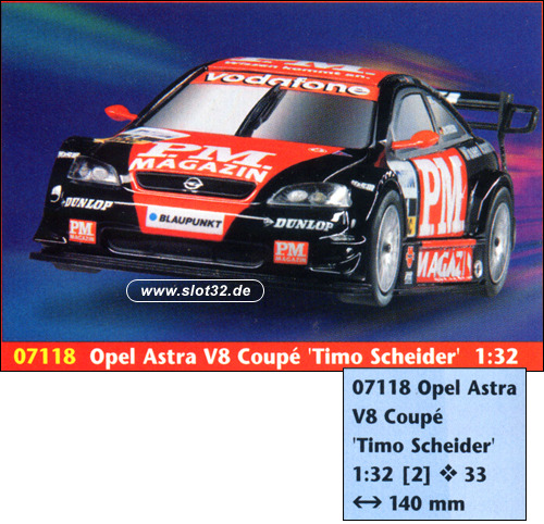 revell easy kit opel astra v8 pm magazin slotcars und slotcar zubeh r. Black Bedroom Furniture Sets. Home Design Ideas