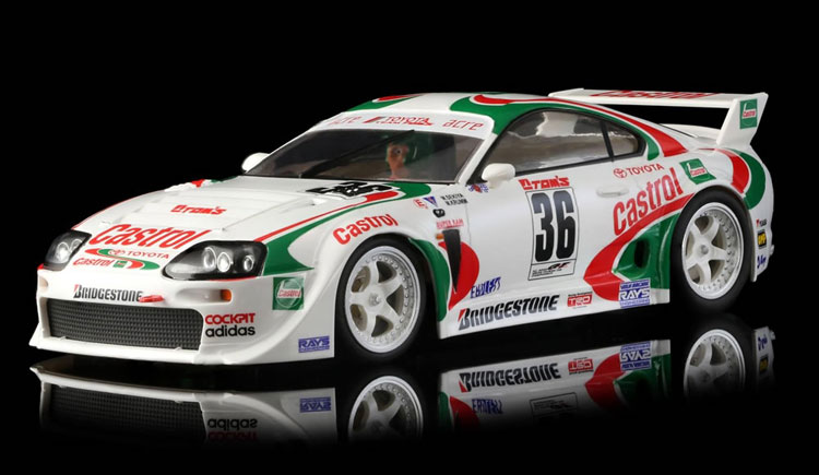 RevoSlot Toyota Supra Castrol # 36