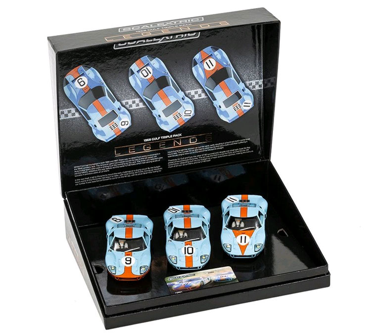 SCALEXTRIC LeMans 1968 Legends GT 40