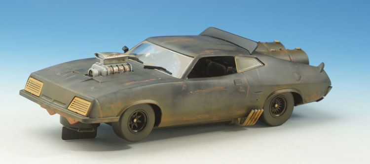 SCALEXTRIC Ford Falcon XB  black - dirty