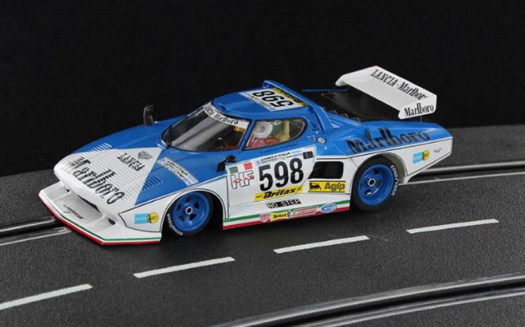 Sideways Lancia Stratos Marlboro Blue Limited