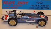 Watson Roadster # 7 Leader Card Spl. blue
